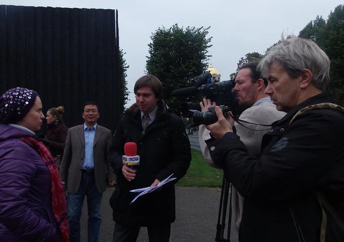 Представители прессы