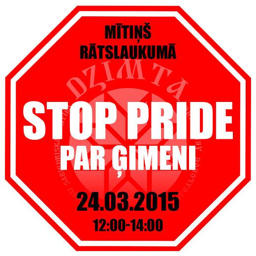 Mītiņš Rātslaukumā 24.03.2015 12:00-14:00