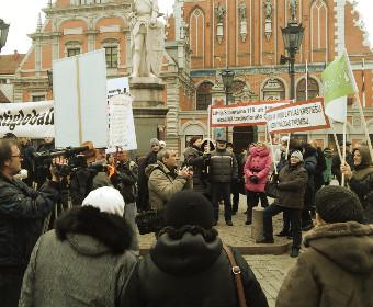 Митинг на Ратушной площади 24 марта 2015 г.
