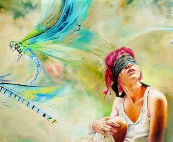 Sieviete un spāre